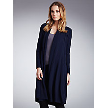 Buy Ghost Alma Classic Crepe Coat, Navy Online at johnlewis.com