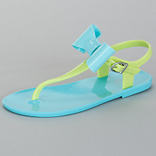 Buy John Lewis Girl Bright Bow Jelly Sandals Online at johnlewis.com