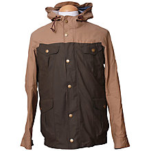 Buy Cro'Jack Woody Hoody 2 Tone Jacket, Sand/Olive Online at johnlewis.com