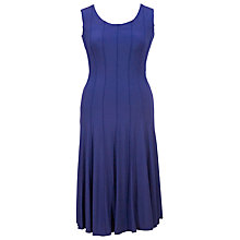 Buy Chesca Raised Seam Stretch Gatsby Dress, Iris Online at johnlewis.com