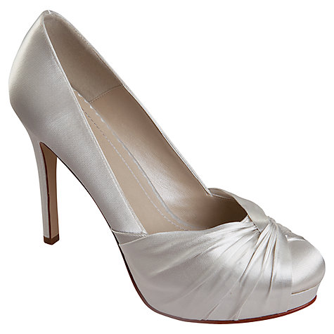 Buy Rainbow Club Simone Platform Court Shoes, Ivory Online at johnlewis.com