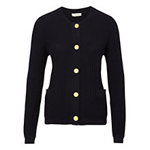 Buy Viyella Cable Detail Cardigan, Navy Online at johnlewis.com