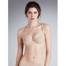 Buy Triumph Delicate Essence Balcony Bra, Nude Online at johnlewis.com
