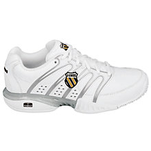 Buy K-Swiss Women's Approach II Outdoor Tennis Shoes, White/Black Online at johnlewis.com