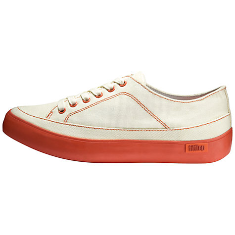 Buy FitFlop Super T Canvas Women's Trainers Online at johnlewis.com