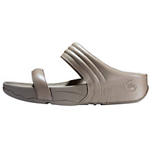 Buy FitFlop Walkstar Slide Sandals, Mink Online at johnlewis.com