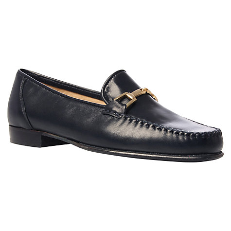 Buy Carvela Mariner Leather Loafers, Pale Yellow Online at johnlewis.com