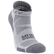 Buy Hilly Monoskin Padded Men's Socklet, White/Grey Online at johnlewis.com