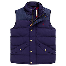 Buy Joules Burbank Cotton Gilet Online at johnlewis.com