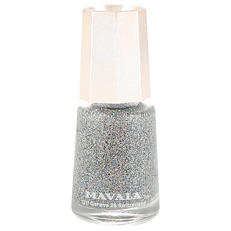 Buy MAVALA Mini Colour Nail Polish - Glitter Online at johnlewis.com