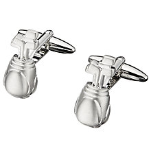 Buy John Lewis Novelty Brushed Golf Club Cufflinks Online at johnlewis.com