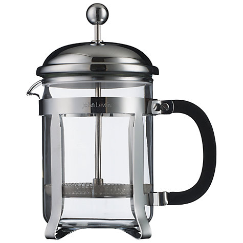Buy John Lewis Classic French Press Cafetiere Online at johnlewis.com