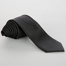 Buy John Lewis Boy Tie, Black Online at johnlewis.com