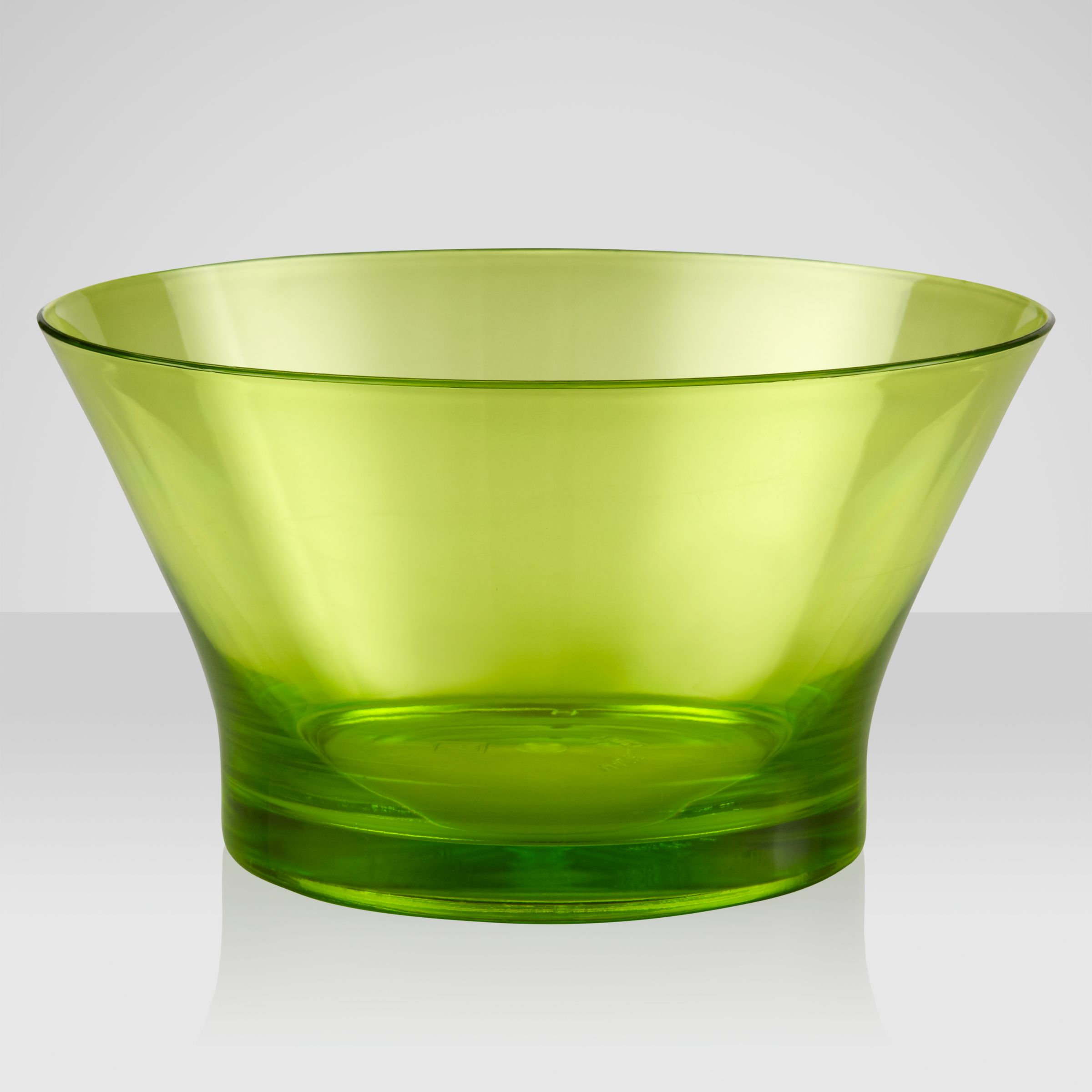 John Lewis Playnation Acrylic Bowls, Lime