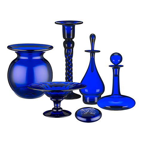 Buy Bristol Blue Glass Decorative Accessories Online at johnlewis.com