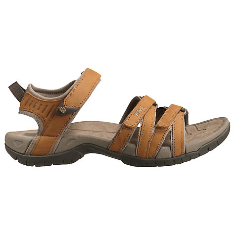 Buy Teva Women's Tirra Leather Sandals, Rust Online at johnlewis.com