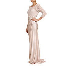 Buy Ghost Taya Lace Maxi Dress, Nude Online at johnlewis.com