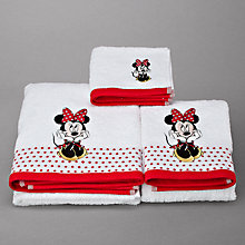 Buy Disney Minnie Oh My! Towel Online at johnlewis.com