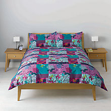 Buy John Lewis Yoko Duvet Cover, Purple Online at johnlewis.com