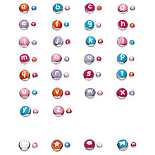 Buy Kit Heath Kids Silver and Enamel Alphabet Letter Online at johnlewis.com