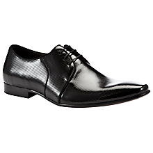 Buy Dune Acid Patterned Patent Shoes, Black Online at johnlewis.com