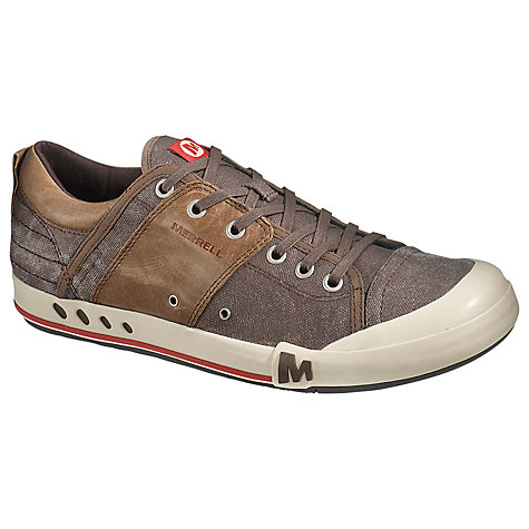 Buy Merrell Rant Canvas and Leather Trainers Online at johnlewis.com