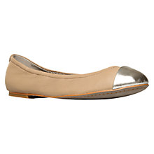 Buy KG by Kurt Geiger Loco Leather Pumps, Taupe Comb Online at johnlewis.com