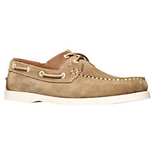Buy KG by Kurt Geiger Sorrento Leather  Boat Shoes Online at johnlewis.com