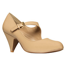 Buy Carvela Amass Mary Jane Court Shoes, Nude Online at johnlewis.com