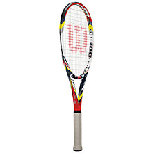 Buy Wilson Steam 100 BLX Tennis Racket Online at johnlewis.com