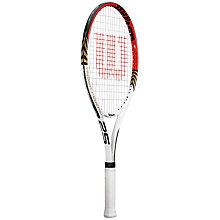 "Buy Wilson Roger Federer Junior Tennis Racket, 25"" Online at johnlewis.com"