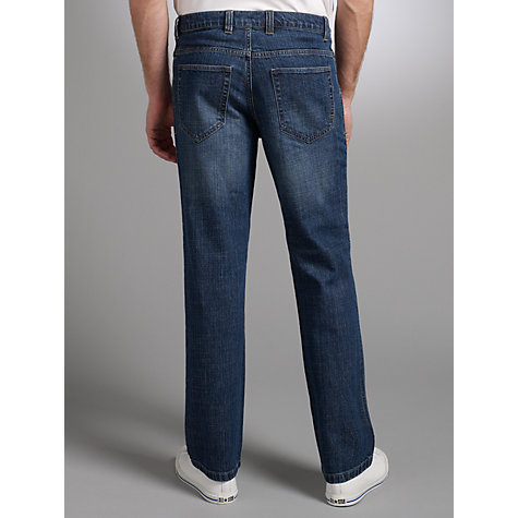 Buy John Lewis Men Stretch Ringspun Jeans Online at johnlewis.com