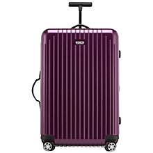 Buy Rimowa Salsa Air Spinner 4-Wheel Large Suitcase, Violet Online at johnlewis.com