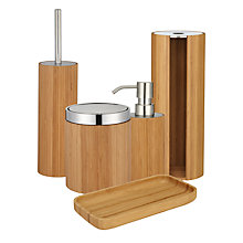 Buy John Lewis Rubberised Bamboo Bathroom Accessories Online at johnlewis.com