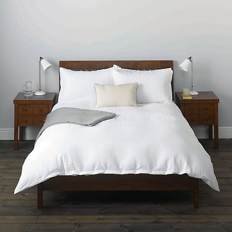 Buy John Lewis Erin Seersucker Bedding Online at johnlewis.com