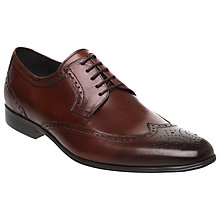 Buy Dune Adonis Brogue Leather Lace Up Shoes Online at johnlewis.com