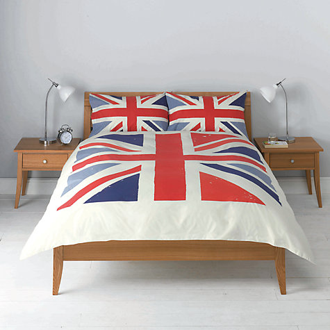 Buy John Lewis Union Jack Duvet Cover and Pillowcase Set Online at johnlewis.com