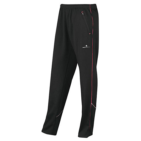 Buy Ronhill Women's Bikester Evolution Trousers, Black/Pink Online at johnlewis.com