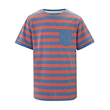 Buy Worn & Torn Stripe T-Shirt Online at johnlewis.com