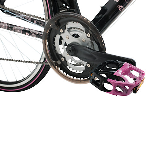 Buy Raleigh Red or Dead Bikeland Bike, Black/Pink Online at johnlewis.com