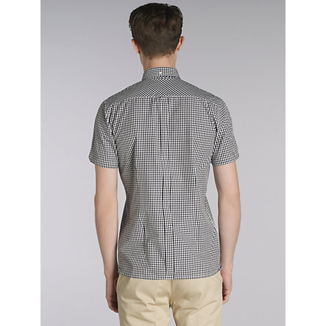 Buy Merc Terry Short Sleeve Gingham Check Shirt Online at johnlewis.com