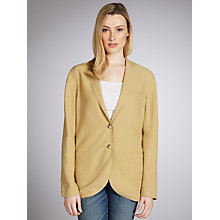 Buy Lauren by Ralph Lauren Vincent Silk Mix Jacket, Wheat Online at johnlewis.com