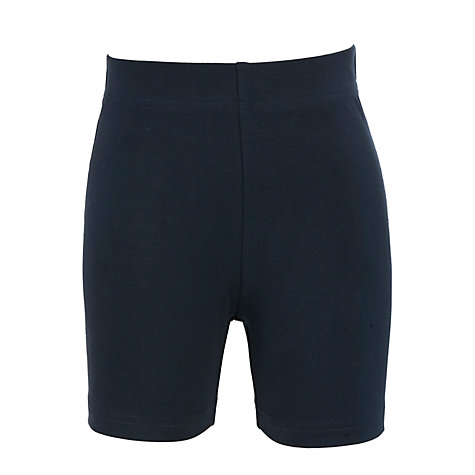 Buy John Lewis School Unisex Cycle Shorts, Navy Online at johnlewis.com