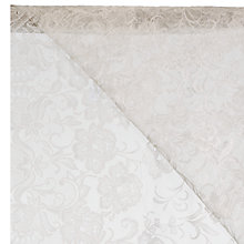 Buy John Lewis Manor Lace Slot Head Voile, Ivory, Drop 137cm Online at johnlewis.com