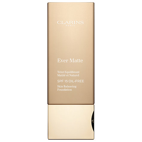 Buy Clarins Ever Matte Foundation SPF15 Online at johnlewis.com