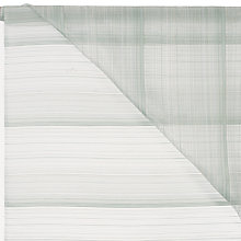 Buy John Lewis Strata Unheaded Voile Fabric, Drop 150cm Online at johnlewis.com