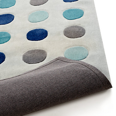 Buy little home at John Lewis Alfie Rugs, Blue Multi Online at johnlewis.com