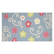 Buy little home at John Lewis Amelie Rugs, Blue Multi Online at johnlewis.com