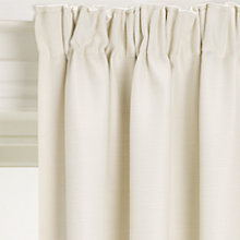 Buy John Lewis Polycotton Rib Blackout Lined Pencil Pleat Curtains Online at johnlewis.com