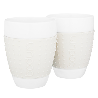 Bodum Pavina Mugs, Set of 2, 0.4L